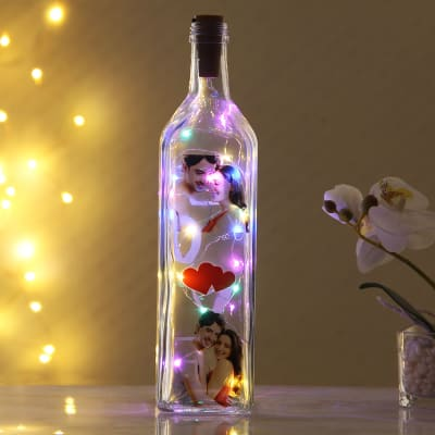 Personalized LED Bottle Lamp