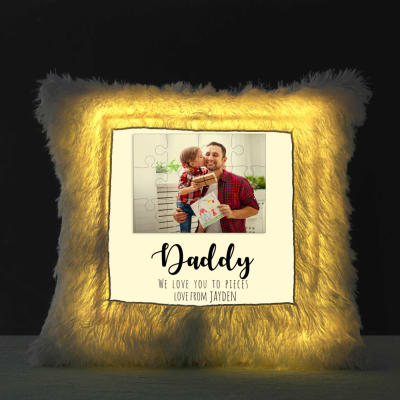 Personalized LED Cushion for Dad