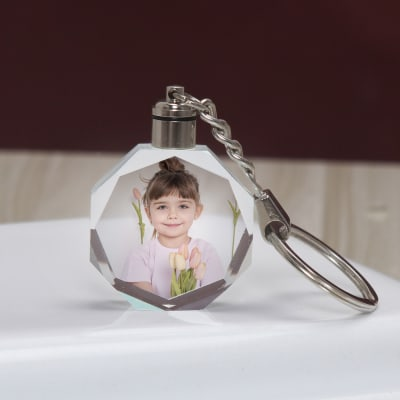 Personalized LED Keychain for Girls