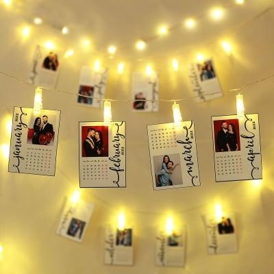 Personalized LED Photo Calendar
