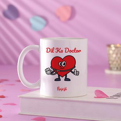 Personalized Love Doctor Ceramic Mug