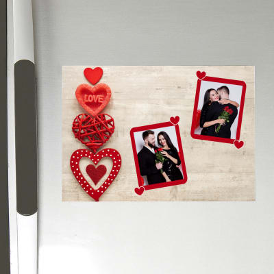 Personalized Love Photo Magnet