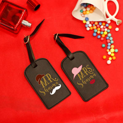 Personalized Luggage Tag for Couples (Set of 2)