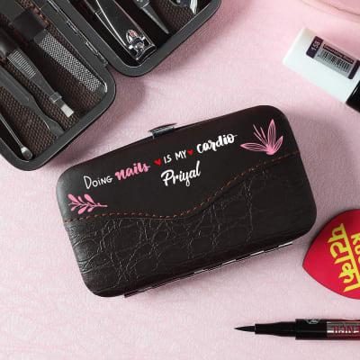 Personalized Manicure Pedicure Kit