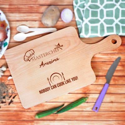 Personalized Masterchef Wooden Chopping Board