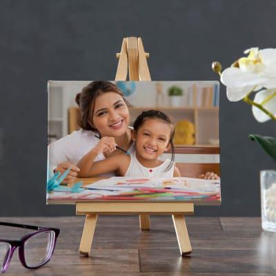 Personalized Mini Canvas For Mom