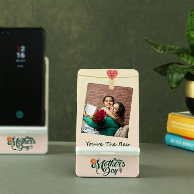 Personalized Mobile Stand for Mother's Day