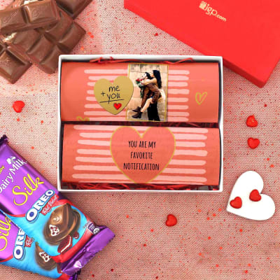 Personalized Oreo Chocolate in Gift Box