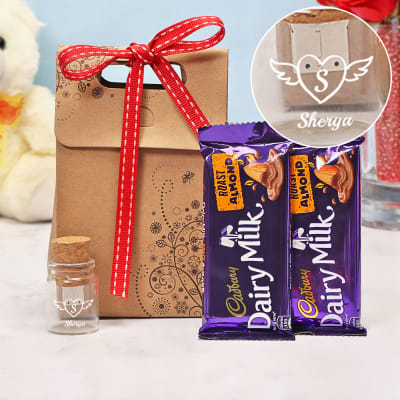 Personalized Pen-Drive & Cadbury Chocolates