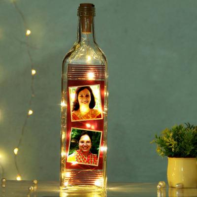 Personalized Photo LED Bottle