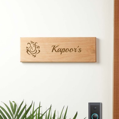 Personalized Photo Name Plate