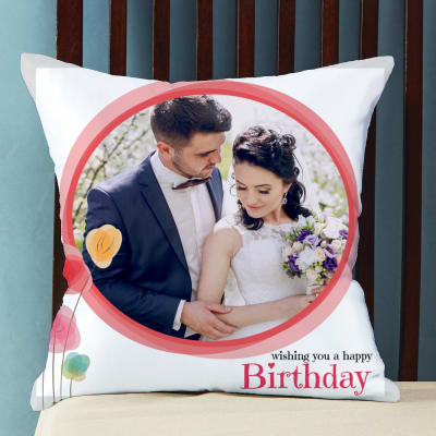 Personalized Pillow for Birthday