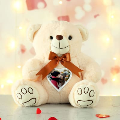 Personalized Romantic Heart Teddy