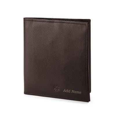 Personalized Slim Wallet with Pen Slot and Moneyband