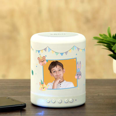 Personalized Smart Touch Mood Speaker for Boy