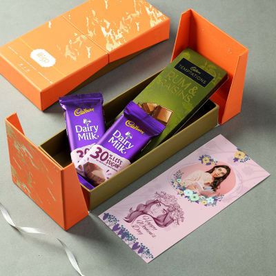 Personalized Women's Day Chocolate Gift Hamper