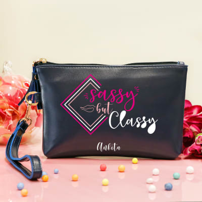 Personalized Women's Makeup Pouch