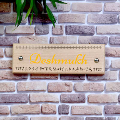 Personalized Wooden Name Plate