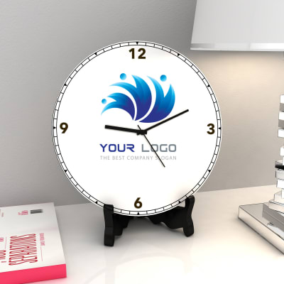 Personalized Wooden Round Clock