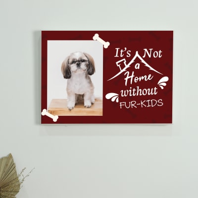 Pet Love Personalized Canvas Frame