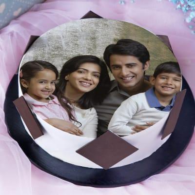 Photo Cake for Family (1 Kg)