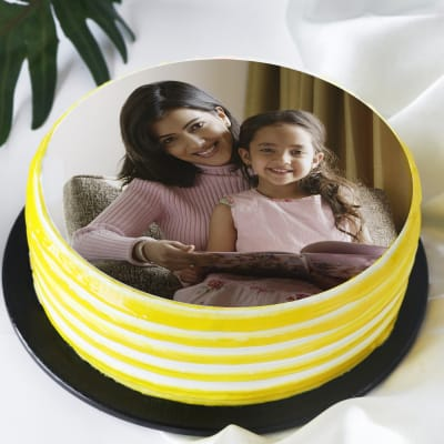 Photo Cake for Mother & Daughter (2Kg)