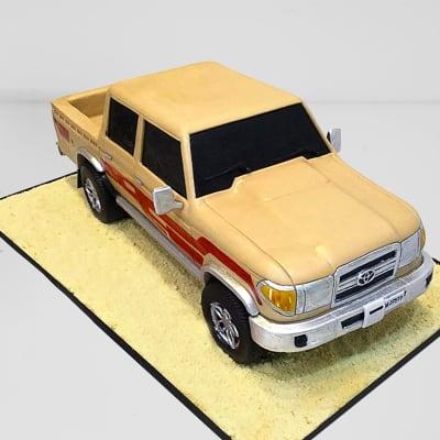 Pickup SUV Fondant Cake (3 Kg)