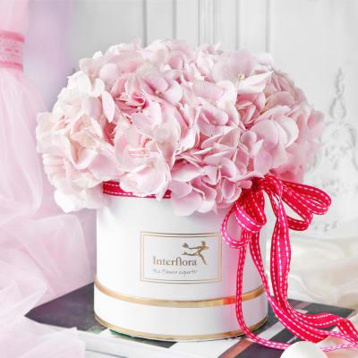 Pink Beauty Flower Box