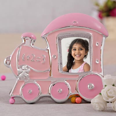 Pink Engine Personalized Photo Frame