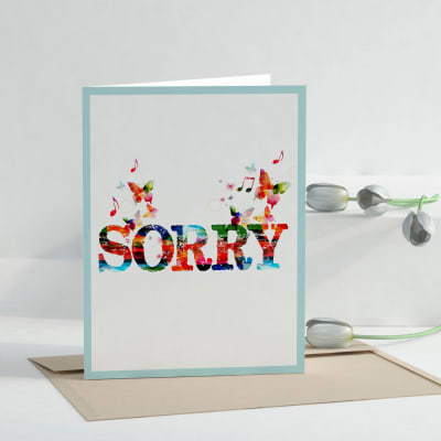 Power of apology personalized sorry greeting card giftsend power of apology personalized sorry greeting card m4hsunfo