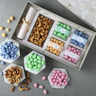 Premium Gourmet Hamper in Gift Box
