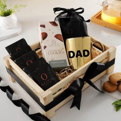 Premium Tea Hamper Gift Set For Dad