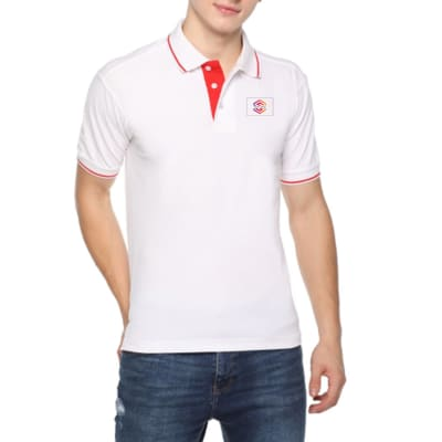Premium Tipped Polo T-Shirt Highline - Customized With Logo