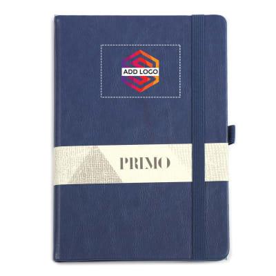 Primo A5 Blue Premium Diary - Customized with Logo