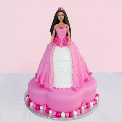 Princess Barbie Cake (2.5 Kg)