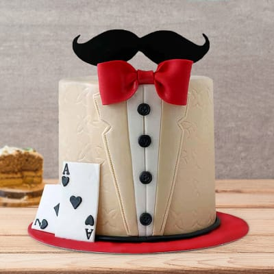 Pro Playing Cards Fondant Cake (3 Kg)