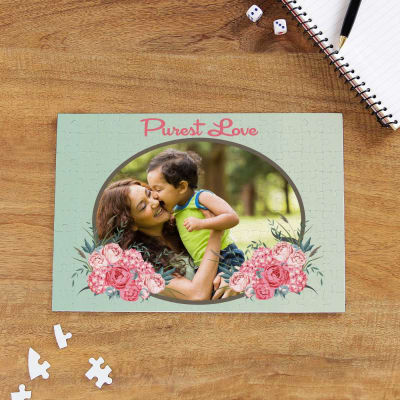 Purest Love Personalized A4 Puzzle