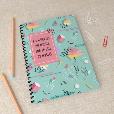 Quirky Personal Notebook