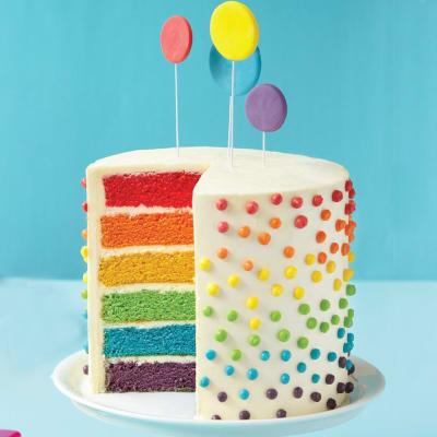 Terrific Order Rainbow Cake 1 5 Kg Online At Best Price Free Delivery Igp Personalised Birthday Cards Xaembasilily Jamesorg
