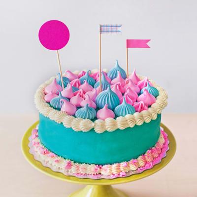 Rainbow Fondant Cake (3 Kg)