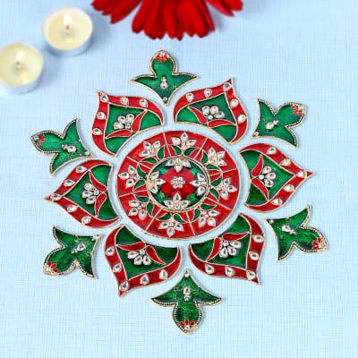Rangoli Designs For Diwali Buy Diwali Rangoli Online Rangoli Stencils