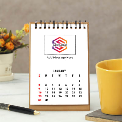 Rectangular Calendar - Customizable with Logo