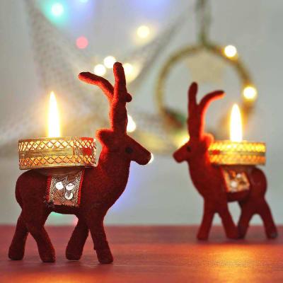 Reindeer Tealight Candles