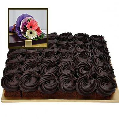 RICH WARMEST CHOCOLATE CAKE BITES DELIGHT