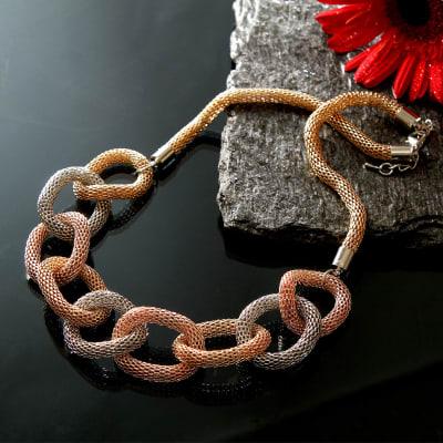 Ringed Fashion Necklace