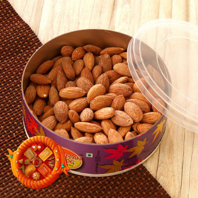 how to make salted almonds
