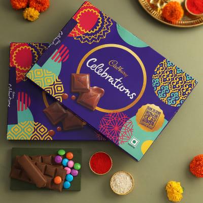 Roli Chawal With 2 Cadbury Celebrations Boxes