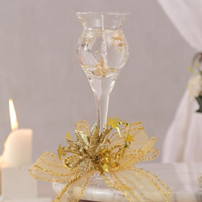Romantic Glass Candle
