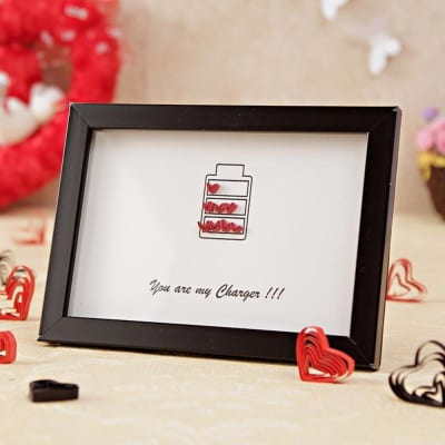 Romantic love Frame