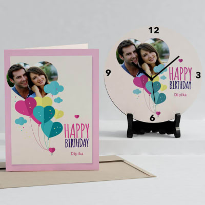 Personalized Clocks: Buy Personalised Wall Clocks with Photo Online ...